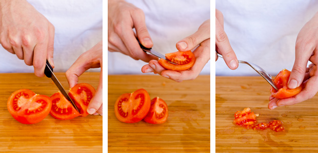 How to Remove Seeds from Tomatoes