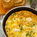 Ricotta and Onion Frittata