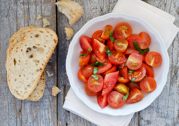 Simple Spring Tomato Salad