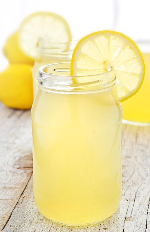 Refreshing Lemonade on a Hot Day