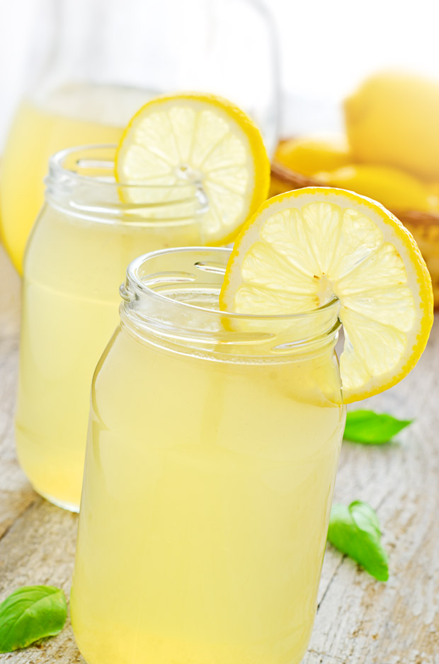Refreshing Lemonade on a Hot Day