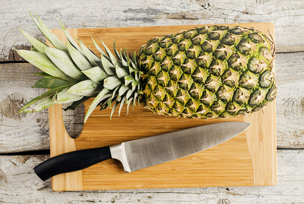 How to Peel and Cut a Pineapple
