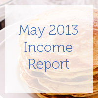 May 2013 Income Report